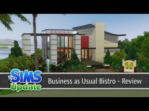 The Sims 3 Store - Business as Usual Bistro - Review   TSU