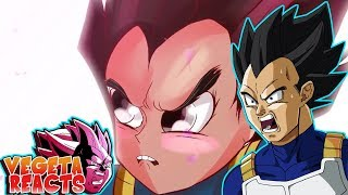 Vegeta Reacts To Ultra Instinct Vegito vs Jiren (Dragon Ball Super Parody)