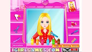 How to play Hairdresser Challenge Games game | Free online games | MantiGames.com