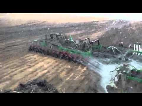 Extreme seeding conditions spring 2011 with 9530T and Summe