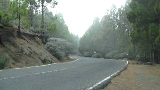 Gran Canaria, driving to the middle of the island
