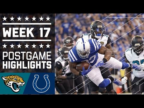 Jaguars Vs Colts Nfl Week 17 Game Highlights