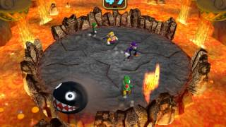 Mario Party 4 minigame: Chain Chomp Fever 60fps