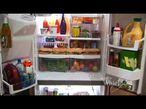 French Door Refrigerators From Whirlpool Appliances Youtube