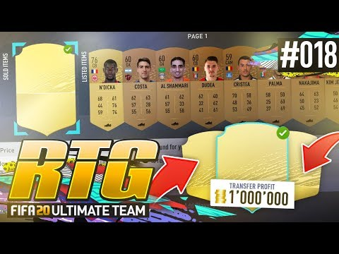 1,000,000 COINS TRANSFER PROFIT! - #FIFA20 Road to Glory! #18 Ultimate Team