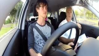 NRMA Safer Driving School take the Sydney Weekender team on a keys2drive lesson