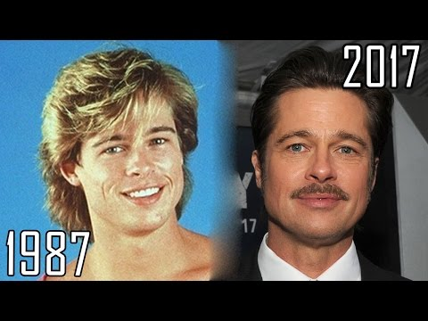 Brad Pitt (1987-2017) all movies list from 1987! How much has changed? Before and Now!