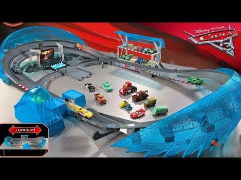 Тачки 3 Игрушки Автодром Флорида Молния Маккуин Мультики про Машинки Cars 3