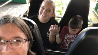 Day in The Life— Six Flags! Rides! Rides! And More Rides!