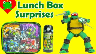 Teenage Mutant Ninja Turtles Lunch Box Surprises Back to School
