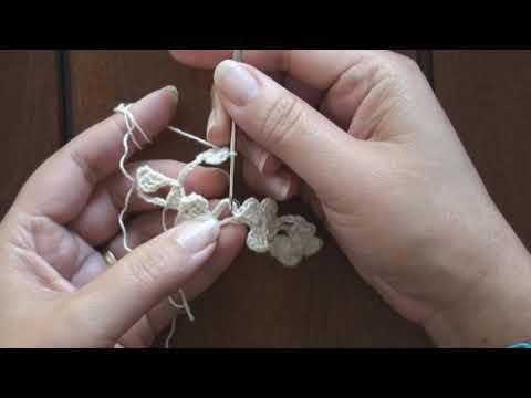 Crochet : Flor de Té. Parte 1