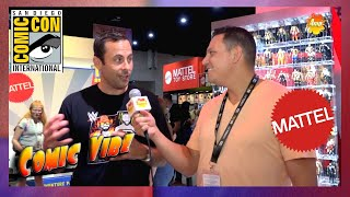 Mattel Booth | San Diego Comic Con 2019 (Comic Vibe)