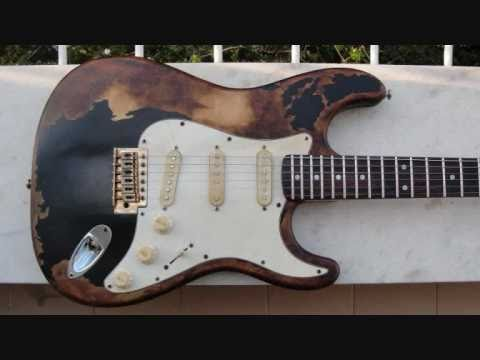 RELICGUITAR - Hand made Relic Custom John Mayer Black One Stratocaster II