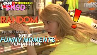 A SNSD Random (but not really) (hopefully) Funny Moments Compilation