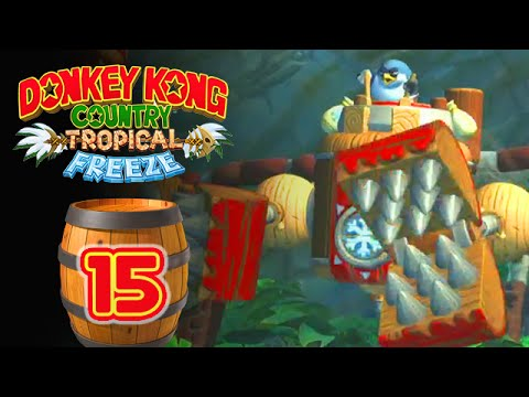 Donkey Kong Country : Tropical Freeze #15 - Le Robot !