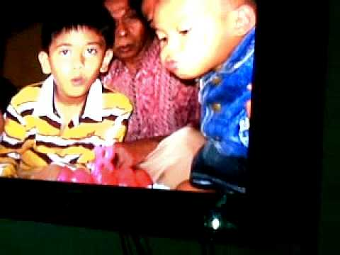 Ulang tahun, Aldi Coboy Junior dapat kado sepatu dari bastian ...