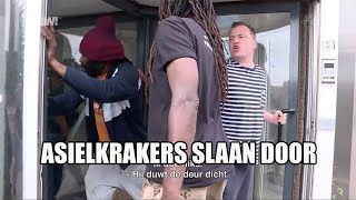 Asielkrakers slaan door