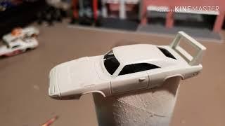 Custom Hot Wheels (Dodge Daytona)