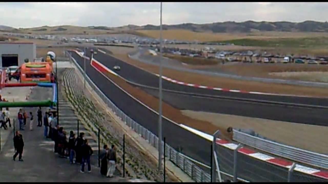 Circuito Los Arcos : Circuito de navarra los arcos inauguracion opening part