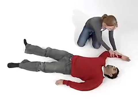 Recovery position - First Aid