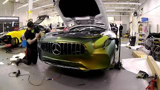 Mercedes GTC Edition 50 Time Lapse Vinyl Wrap