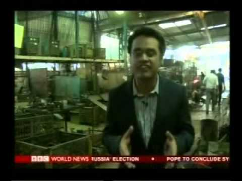 NMIMS students in India Business Report on BBC World News on 30th Nov 2014.