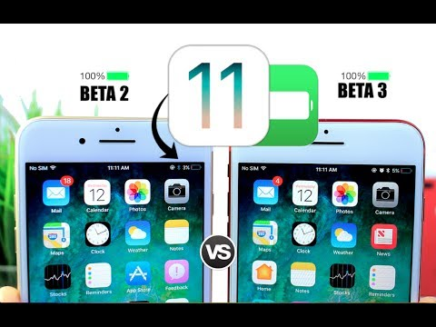 iOS 11 Beta 3 Vs Beta 2 Battery Test