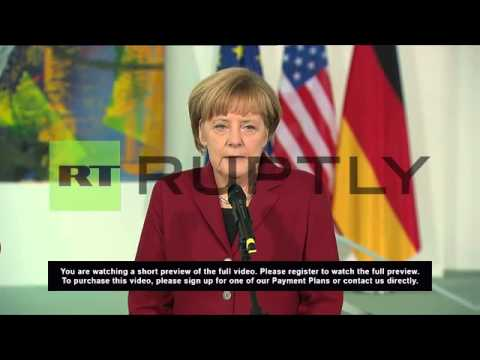 Germany: Kerry and Merkel meet in Berlin for Ukraine talks