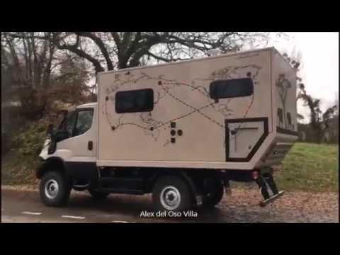 Iveco daily 4x4 Camper 2018. Conversion.