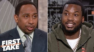 Meek Mill on Eagles repeat chances, 76ers chemistry & new album 'Championships' | First Take