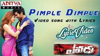 Pimple Dimple Video Song With Lyrics II Yevadu Songs