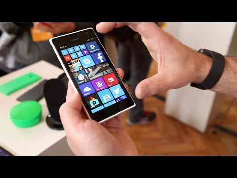 Nokia Lumia 730 hands-on