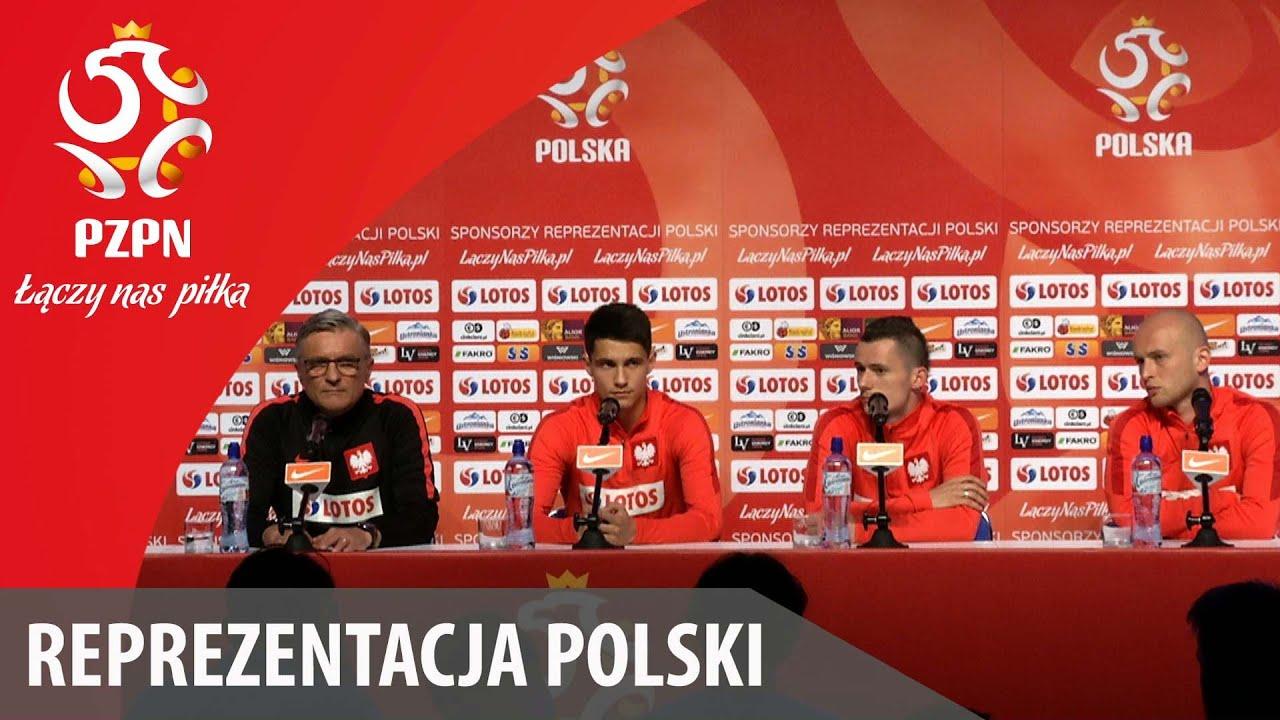 Konferencja prasowa reprezentacji Polski (5.06.2016)