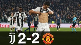 Juventus vs Manchester United 2-2 Goals amp Highlights w/ English Commentary UCL 2018/19 HD 1080p