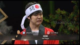 Huaah..! Genki Makan Ceker Pentol 50 Cabai | HITAM PUTIH (13/11/18) Part 2