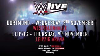 WWE Live im November - Macht es zu eurem Moment