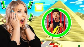 I ESCAPE THE WORLD'S MOST SECURE MINECRAFT PYRAMID PRISON WITH MY WIFE!