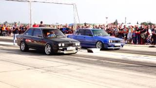 BMW E30 2.5 TURBO 500HP vs BMW E30 M5 E39 Engine N/A