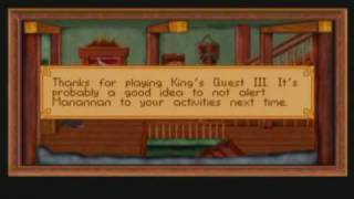 What Not to Do in King's Quest III Remake and Other Observations