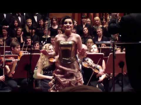 ALEKSANDRA OLCZYK Kuplety Adeli Z Zemsty Nietoperza  - Koncert W Filharmonii Pomorskiej W Bydgoszczy