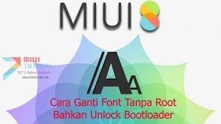 Cara Lain Memunculkan Opsi Pengaturan Unduh Font Di Thememanager Xioami Miui Segala Tipe
