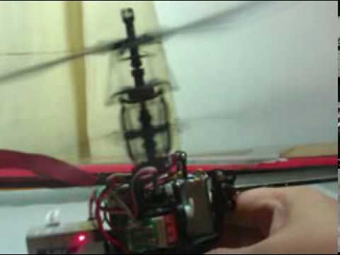 LAMA V4 Coaxial Helicopter - Dual Swashplate Flybarless VDoc