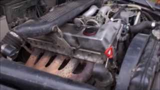 Mercedes-Benz OM 602 - DIESEL COLD START - Kaltstart