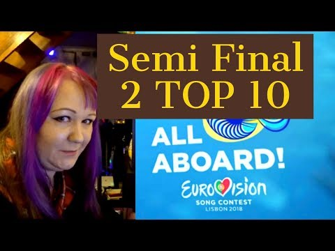 Eurovision 2018. My Semi Final 2 Top 10.