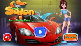 Car Wash Salon and Auto Body Shop - Car washing games