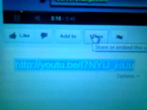 How to post song on Facebook from youtube