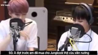 Xiên cừu truyền kì~~♡ Jungkook vs Suga (방탄소언단)