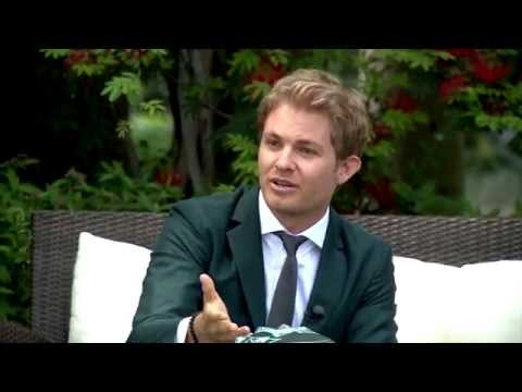 F1's Nico Rosberg relaxes with royalty ahead of Monaco GP 2015