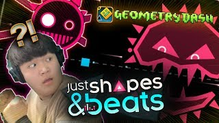 JUST SHAPES & BEATS + GEOMETRY DASH LEVEL!? | Geometry Dash [2.11] | Dorami