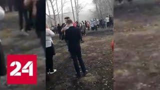 В башкирском городе Стерлитамак вооруженный ножом ученик напал на школу
